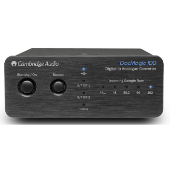 Cambridge Audio DacMagic 100-Svart (B-stock)