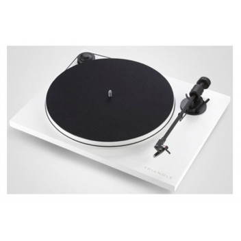 Pro-ject Triangle TT White (B-stock)